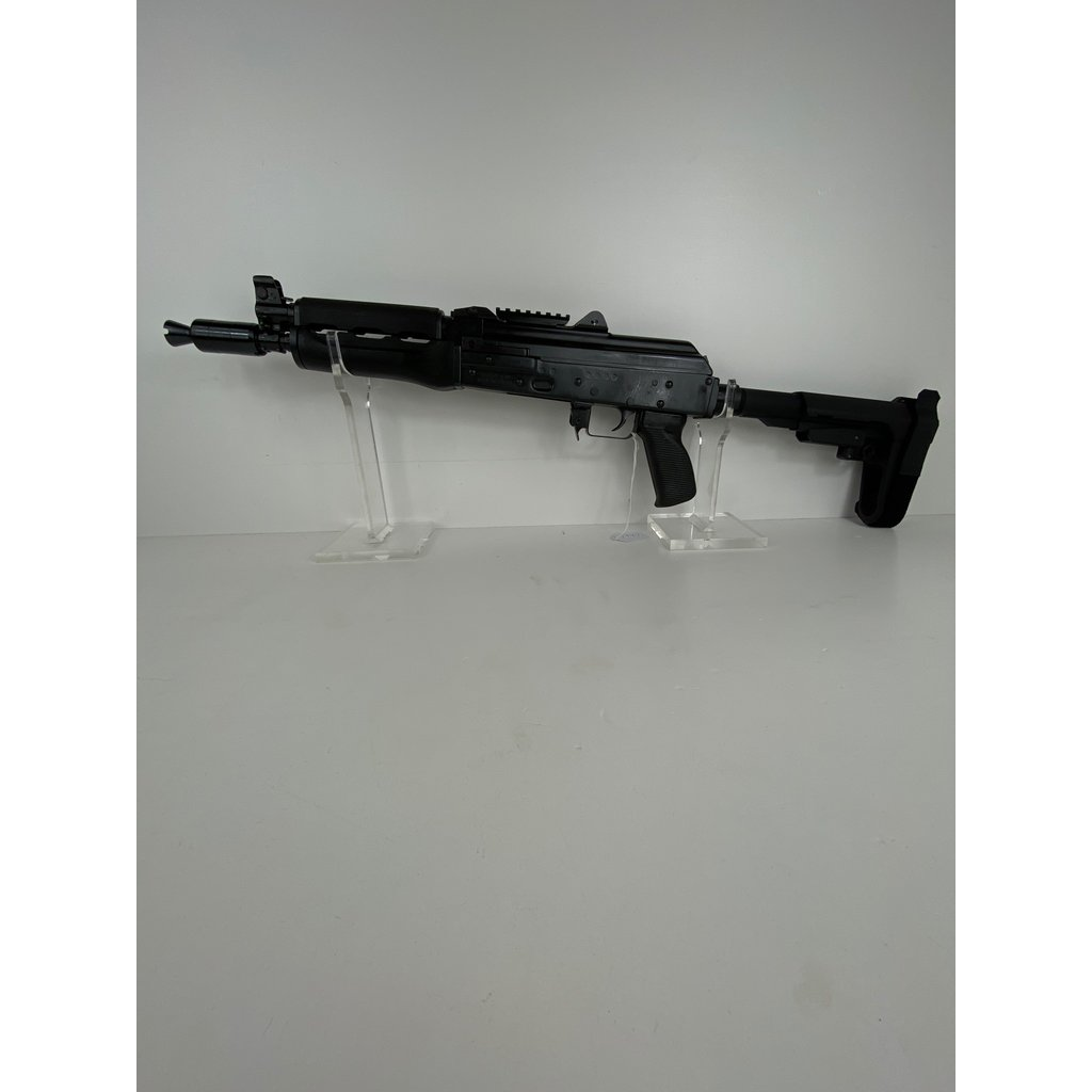 "Zastava Zastava, ZPAP92, Semi-automatic, AK Pistol, 7.62X39, 10"" Chrome Lined Barrel, SBA3 Brace"