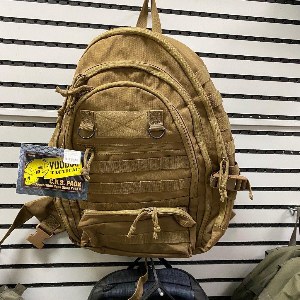 Voodoo Tactical C.R.S. Pack Coy Tan