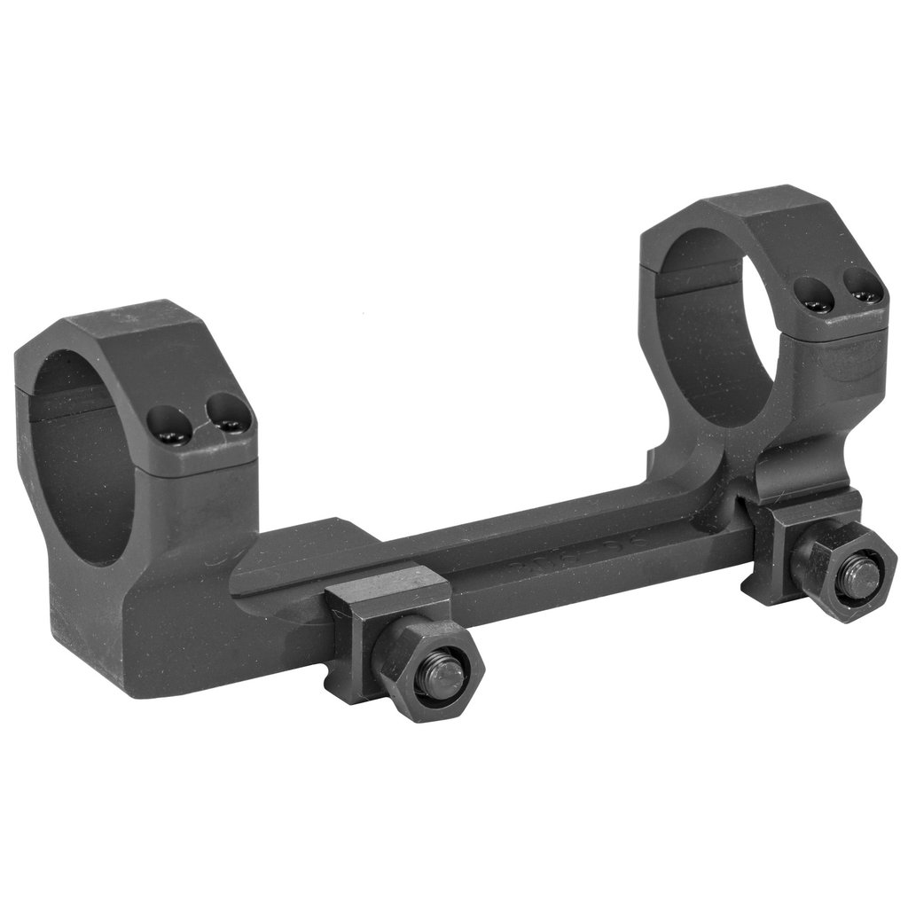 Badger Ordnance Badger, 30MM 1-Piece Mount, Fits Picatinny, Alloy, Extra High Height, 20 MOA, Black
