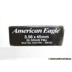 Federal Federal Premium American Eagle XM193 5.56x45mm 55 Grain FMJ UPC Code # 029465094607
