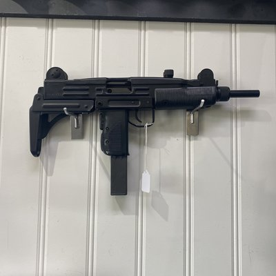 "(Consignment) IMI Uzi Model B w/ Original Box and Paperwork, 16"" Barrel, additional pistol barrel and magazine."
