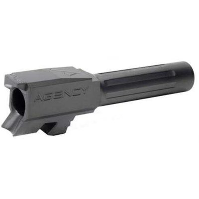 Agency Arms, Mid Line Barrel 9MM Black Fluted Fits Glock 43 MFG# MLG43FDLC