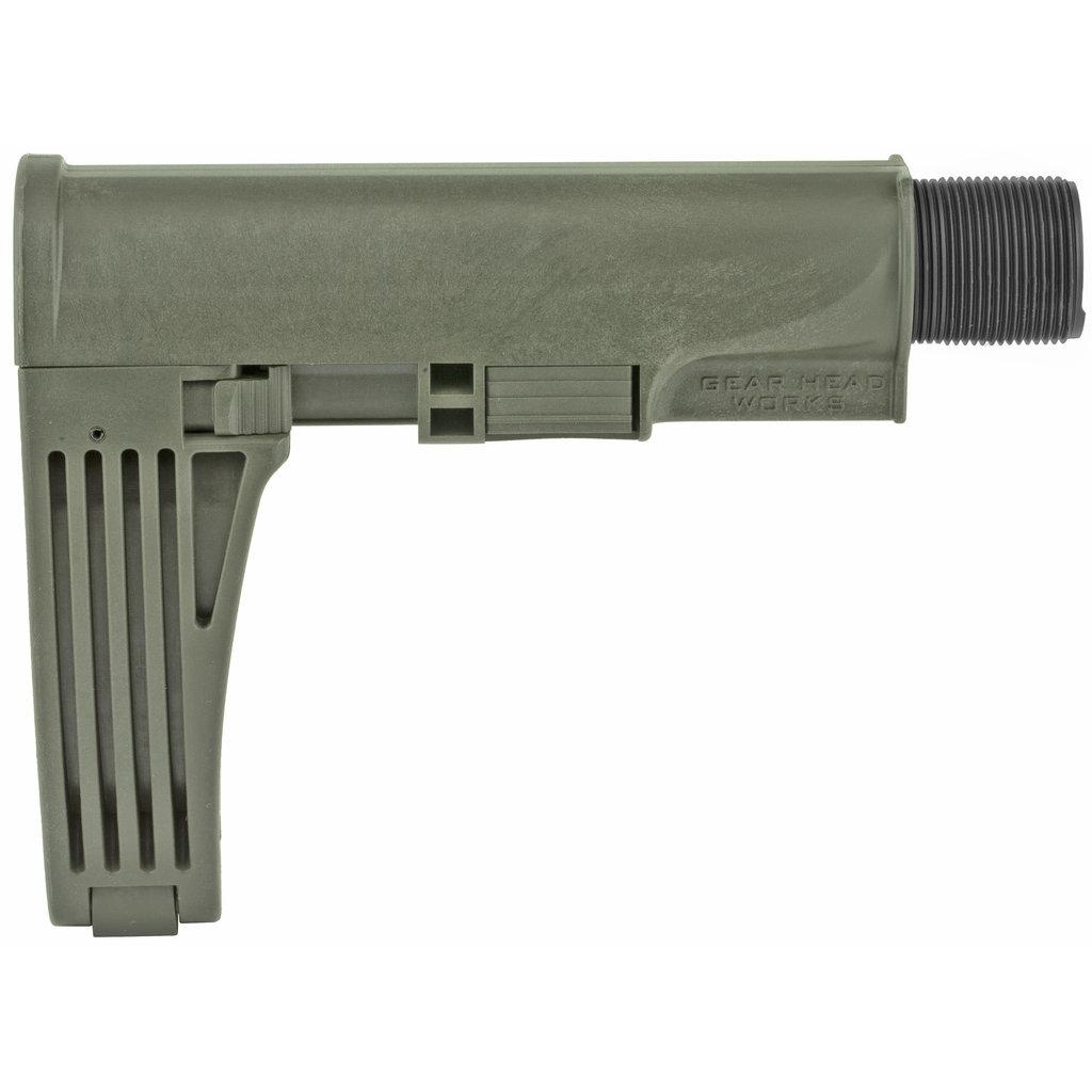 Gear Head Works Gear Head Works, Tailhook MOD 2, Pistol Brace, OD Green Finish