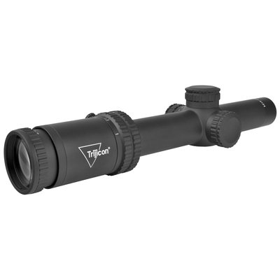 Trijicon Trijicon, Credo 1-6x24mm Second Focal Plane Riflescope with Green BDC Segmented Circle .223 / 55gr, 30mm Tube