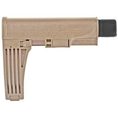 Gear Head Works Gear Head Works, Tailhook MOD 2, Pistol Brace, Flat Dark Earth Finish