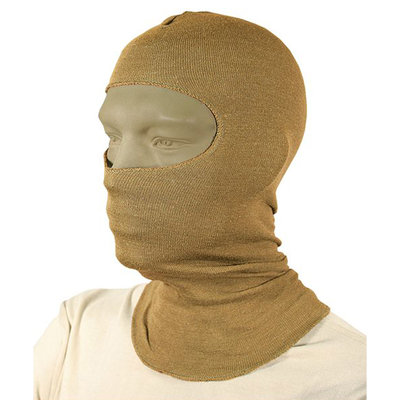 "BLACKHAWK, Lightweight Balaclava, with Nomex, 18"" Length, Coyote Tan"