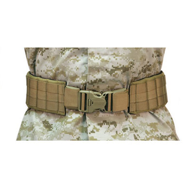 "BLACKHAWK, Padded Patrol Belt and Pad, with IVS, Medium (43"" - 49""), Coyote Tan"