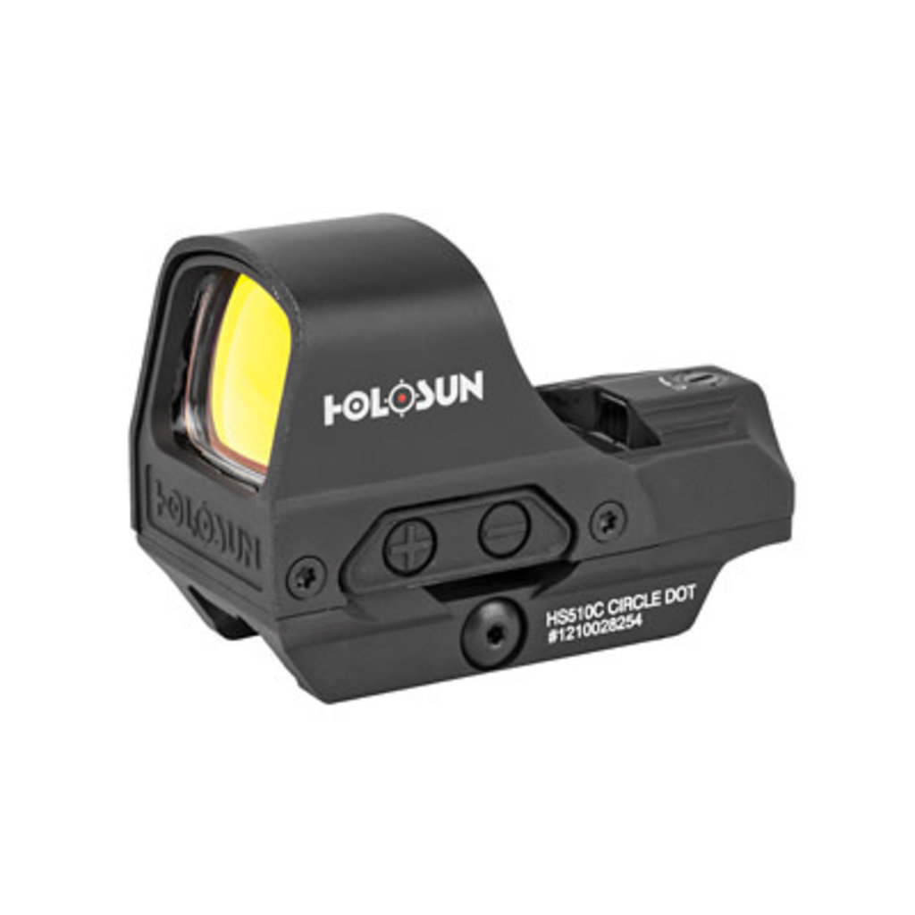 HOLOSUN OPEN REFLEX DUAL RETICLE QR MFG# HS510C UPC# 605930624571