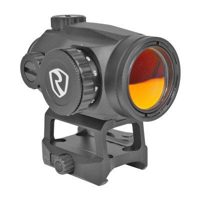 RITON Riton Optics, X3 TACTIX, Red Dot, 1X25mm, 2MOA Red Dot, Black Color, Lower 1/3 QD Mount
