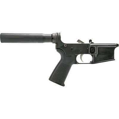ANDERSON MFG. Anderson Complete AR-15 Pistol Lower Receiver Black UPC Code# 640901512372