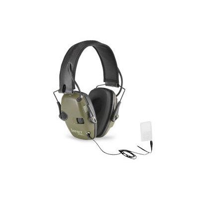 Howard Leight Impact Sport Electronic Earmuff OD Green MFG# R-01526 UPC# 033552015260