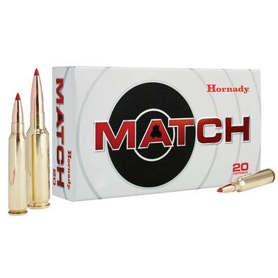 Hornady Hornady 308 Win 178gr BTHP/20 MFG# 8105 UPC Code# 90255381054