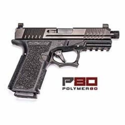 "P80 Compact 9MM 4"" Barrel Black MFG#  UPC Code# 819925022536"