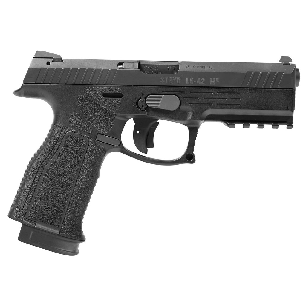 "STYER PISTOLE L9-A2 MF 9X19MM BLACK 17 ROUND 4.5"" BARREL"