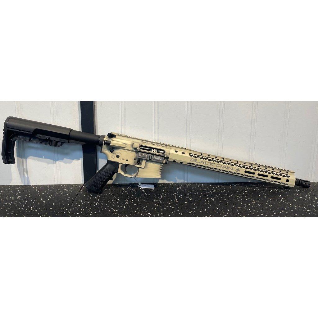 "Black Rain Ordnance, Billet Semi-auto, AR 223/556 Nato 16"" 30 Rd. MFG # BRO-20110903 UPC Code# 681565227615"