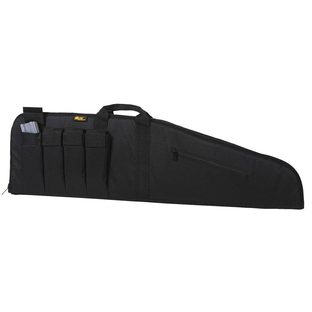 """US PeaceKeeper MSR Case Black 600D Polyester 35"""" L x 12.50"""" H"""