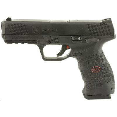 SAR USA SAR9 Blk 9mm 17rd MFG# SAR9BL UPC# 858763007121
