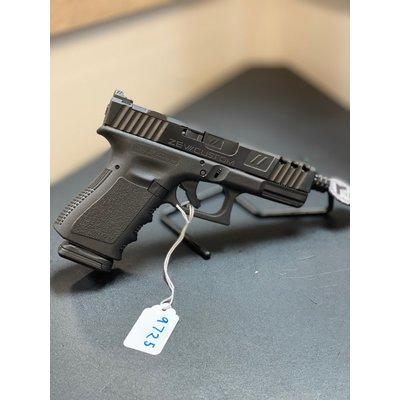 Glock (consignment) Glock 19 Gen 3 W/Zev custom slide and Pro Threaded Barrel