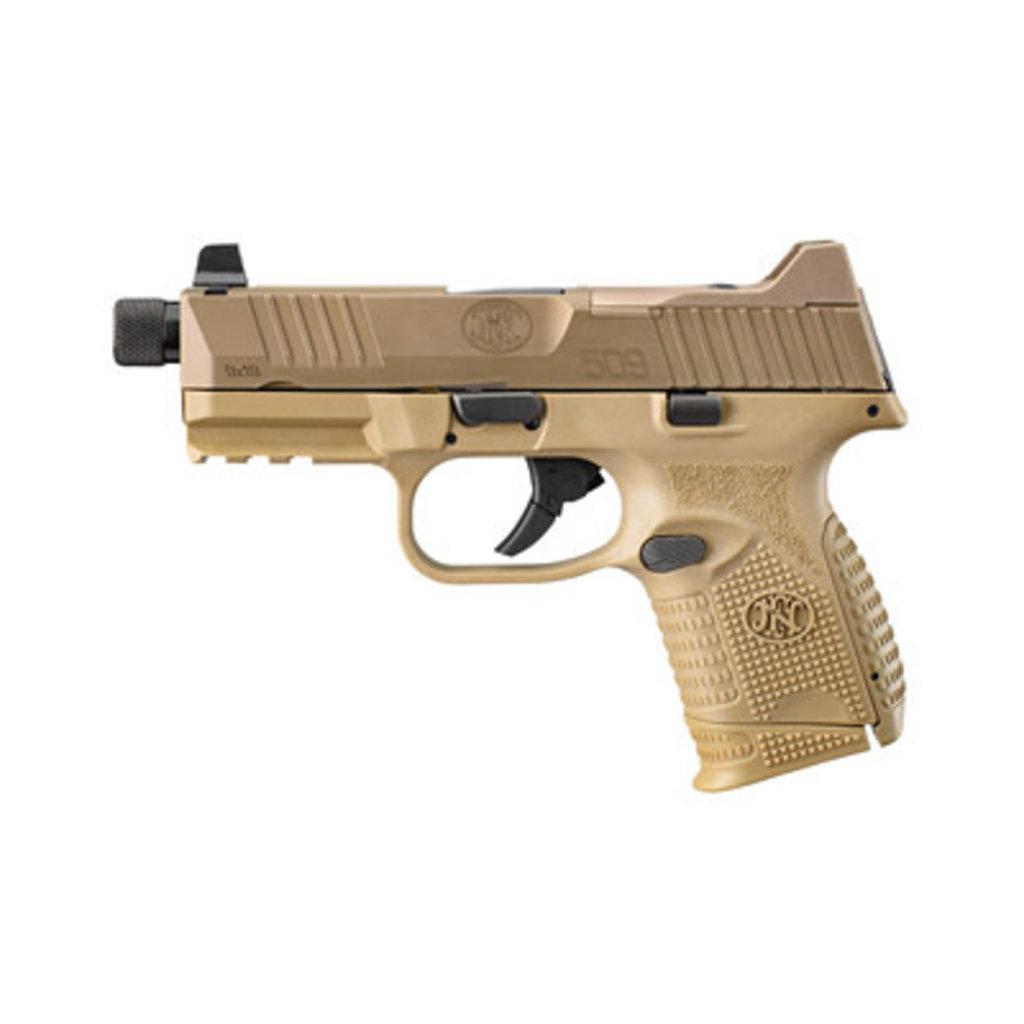 FNH USA FN 509C Tactical 9mm FDE MFG# 66100780 UPC# 845737012656