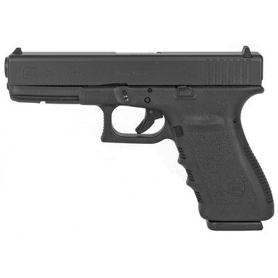 "Glock Glock 20SF 10mm 4.61"" 10rd Blk MFG# PF2050201 UPC# 764503662010"