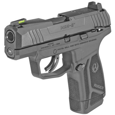 "Ruger Ruger MAX-9 Semi-Auto Striker Fired 9mm 3.2"" Blk MFG# 03500UPC# 736676035007"