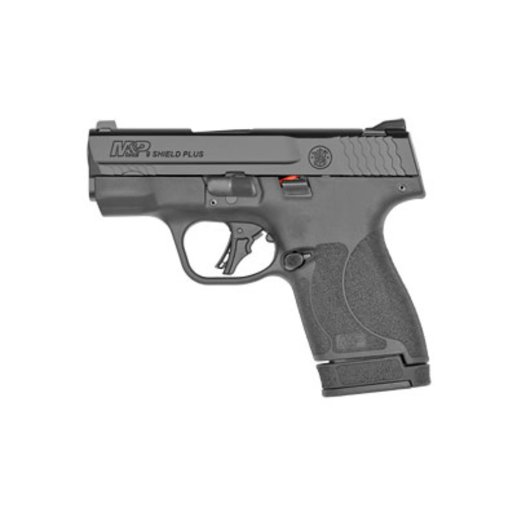 """Smith & Wesson Smith & Wesson, Shield Plus, 9MM, 3.1"""" Barrel, White Dot Sights, Polymer Frame, No Thumb Safety UPC# 022188885118"""