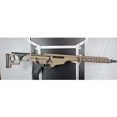 "Barrett Barrett, MRAD SMR, Bolt Action Rifle, 308 Winchester, 17"" Barrel, Flat Dark Earth Finish, Fixed Stock, 10RD MFG# 18518 UPC Code#"