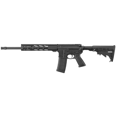 "Ruger AR-556 Semi-Auto 556NATO 223 Remington 16.1""30rd Blk MFG# 8529"