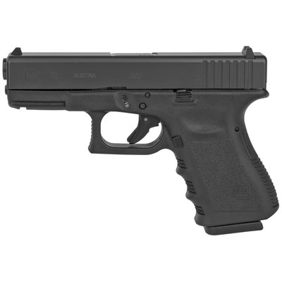 "Glock Glock 19 Compact Semi-Auto 9mm 14.02"" 15rd Blk MFG# PI1950203 UPC# 764503502194"
