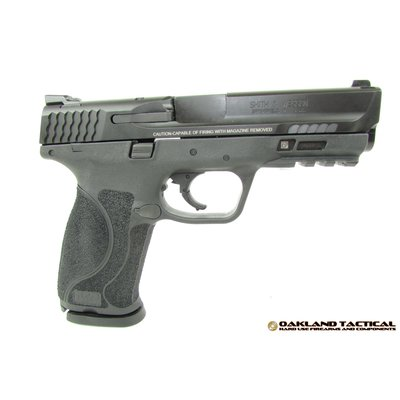"""Smith & Wesson Smith and Wesson M&P 2.0 Semi-Auto Striker Fired 9mm 4.25"""" 17rd Blk MFG# 11521 UPC# 022188869279"""