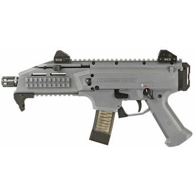 "CZ CZ Scorpion EVO3 S1 Semi-Auto 9mm 7.7"" 20rd Battlship Grey MFG# 91356 UPC# 806703913568"