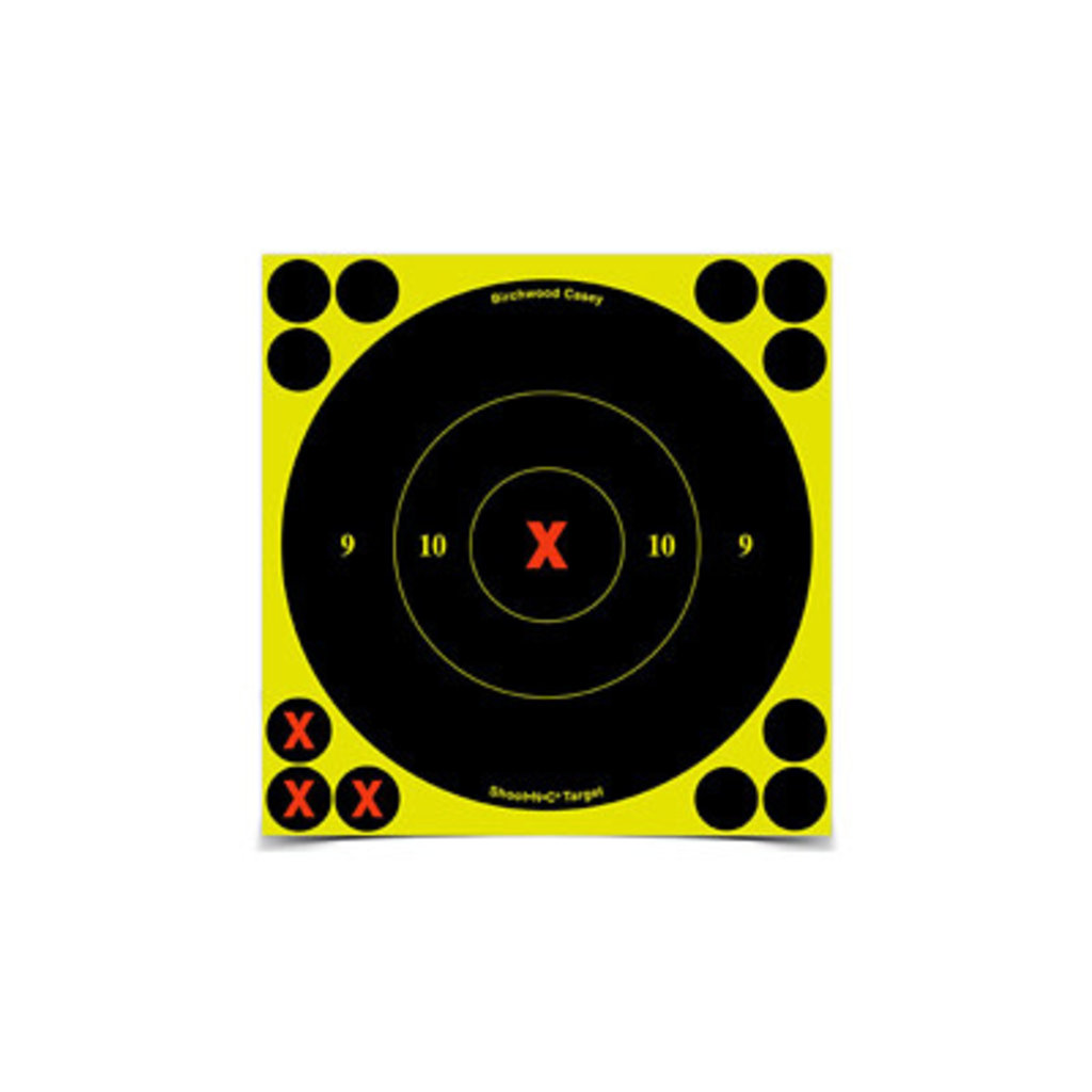 "Birchwood Casey, Shoot-N-C Target, Round Bullseye, 6"" Targets"