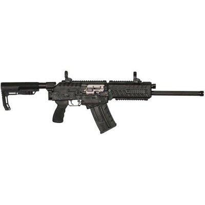 "Fostech Fostech FT-12 Origin 12 Nickel Internals 12G 18"" 5rd Semi-Auto Shotgun - Black"