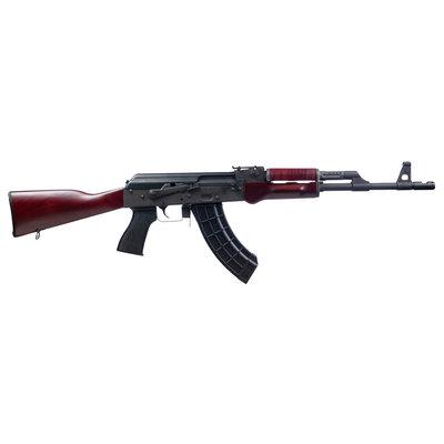 Century Arms VSKA AK47 16.5″ 30+1 7.62 x 39mm Russian Red wood furniture Chevron Brake Compensator AK-47 MPN: RI4335-N UPC: 787450721784