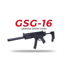 GSG GERMAN SPORTS GUNS German Sport Guns GSG-16 22LR 16.25 BLK 22LR UPC #819644021476