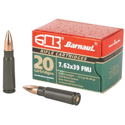 Brown Bear 7.62x39mm 123GR FMJ UPC# 4607094860266