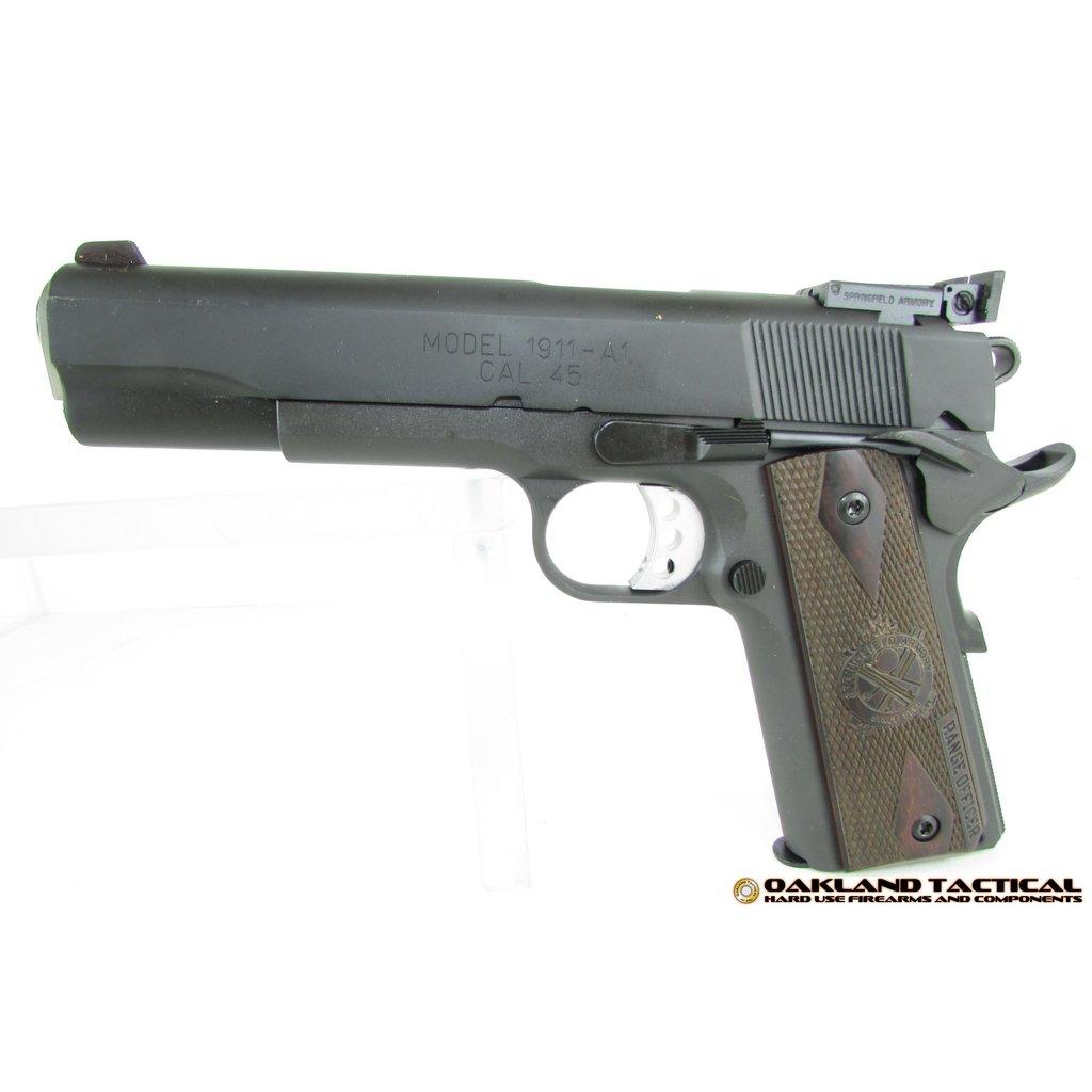 "Springfield Springfield Armory 1911 Range Officer 5"" Barrel .45 ACP MFG# P19128L UPC# 706397913007"