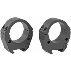 Talley Manufacturing, Modern Sporting Rings, Fits Picatinny Rail System, 34mm Medium, Black, Alloy
