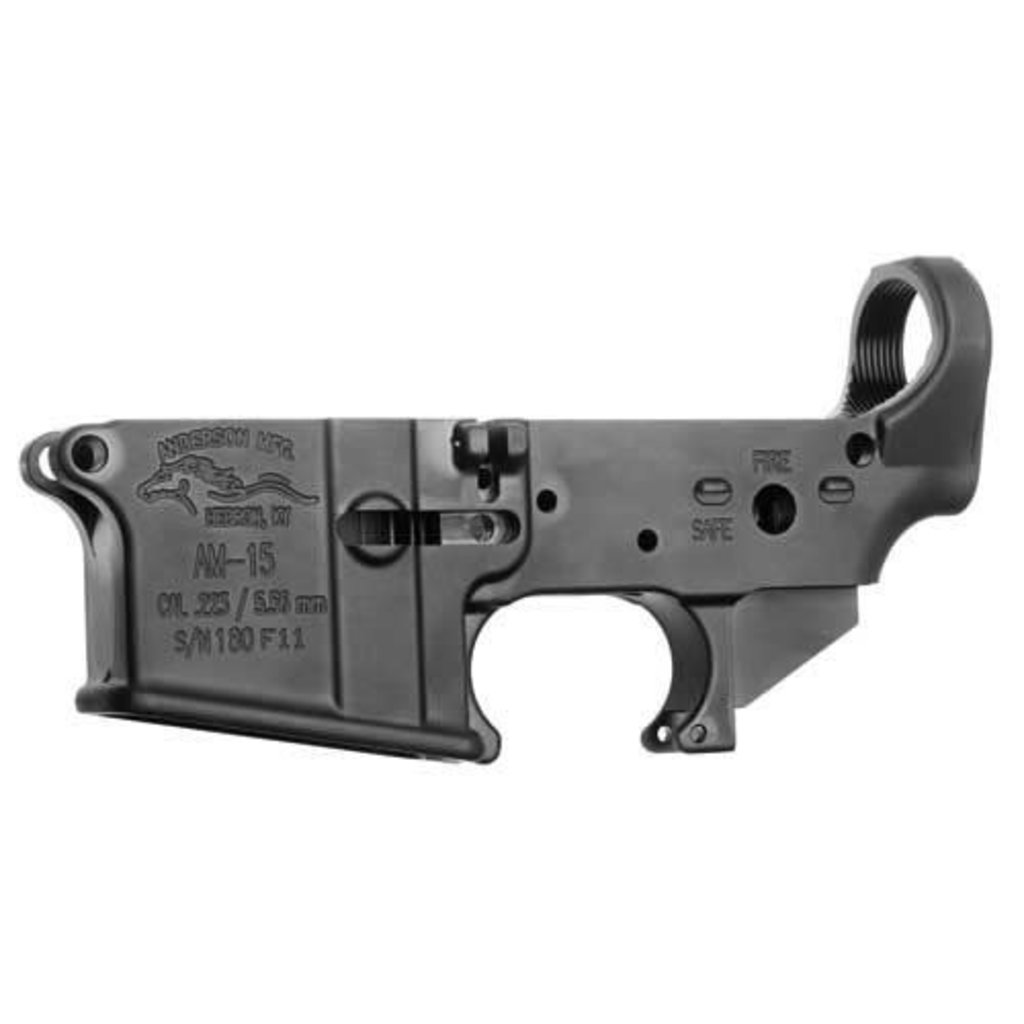 Anderson Manufacturing AR15 Mil-Spec Lower Receiver MFG # D2-K067-A000-0P UPC # 712038921676
