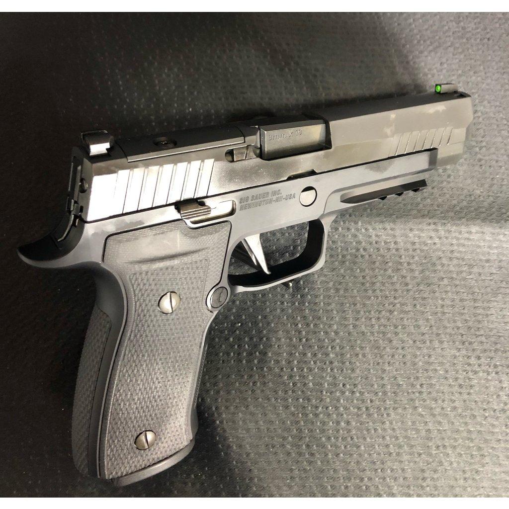 """Sig Sauer Sig Sauer P320 AXG, 9mm, 4.7"""" Barrel, 17rd, Black Night Sights, Pistol, UPC# 798681651214"""