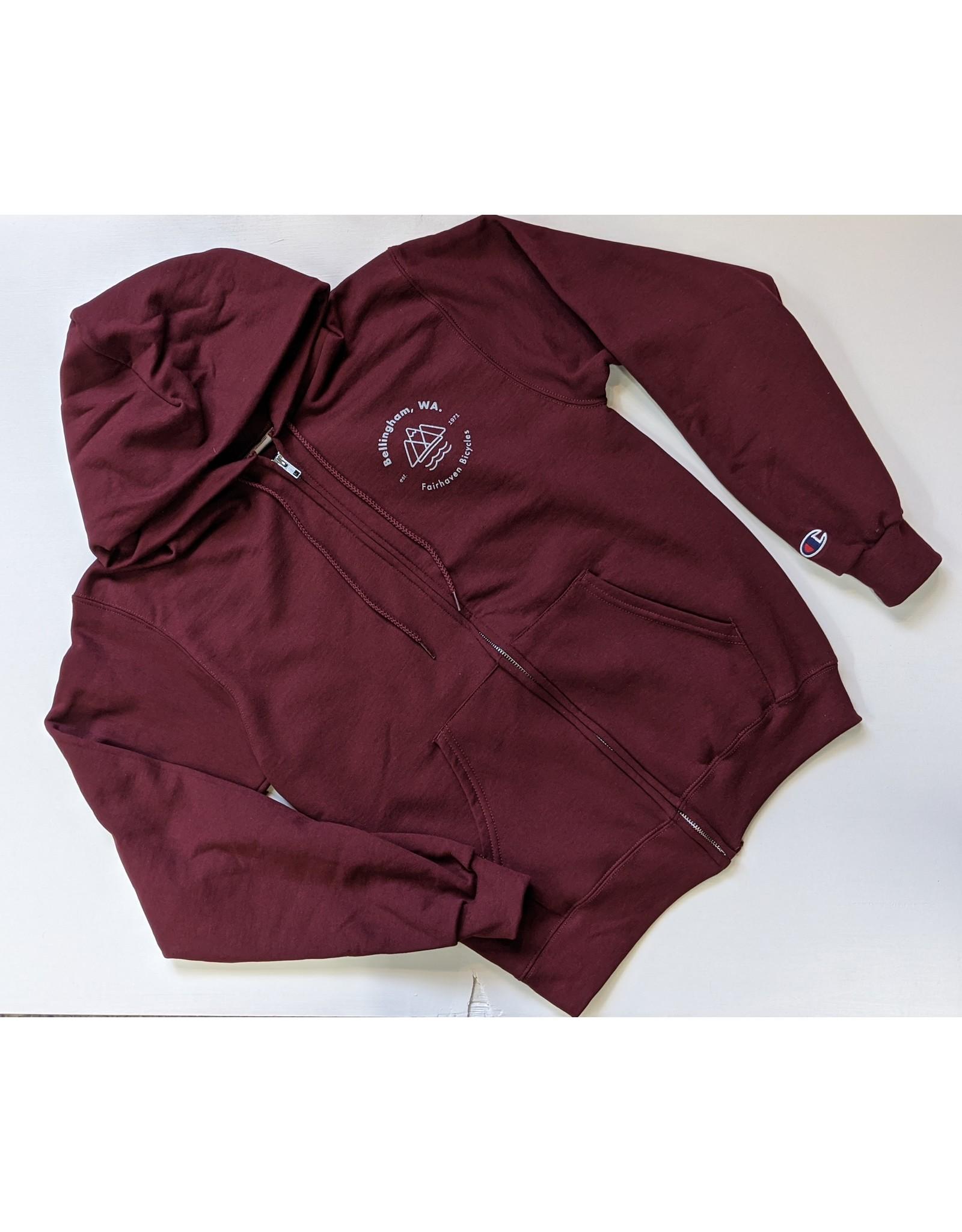 Champion Fairhaven Zip Hooded Sweatshirt