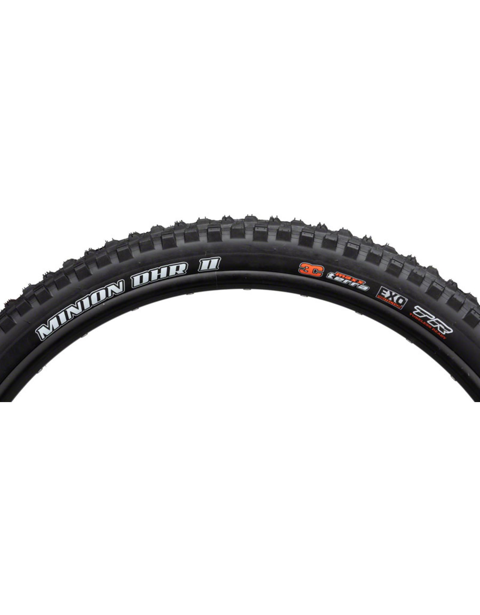 Maxxis Maxxis Minion DHR II Tire - 27.5 x 2.4, Folding, Tubeless, Black, 3C Maxx Terra, EXO, Wide Trail