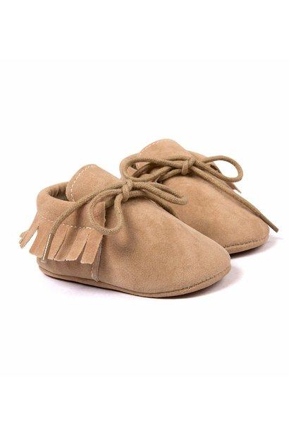 Baby Fringe Moccasin Shoes