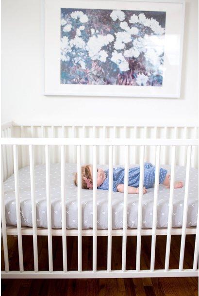 Copper Pearl Slate Crib Sheet