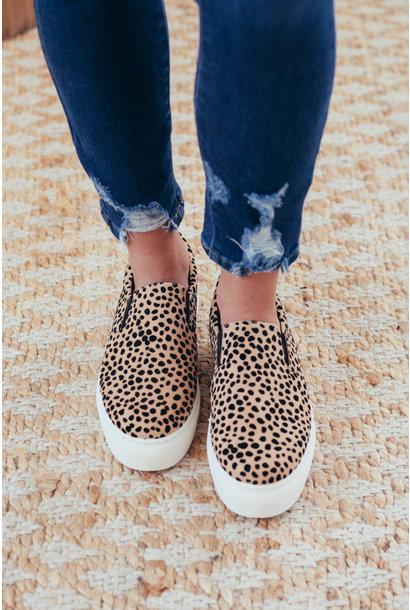 Montie Leopard Step In Sneakers
