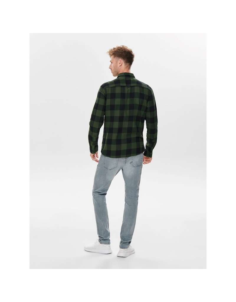 ONLY & SONS ONSGUDMUND LS CHECKED SHIRT
