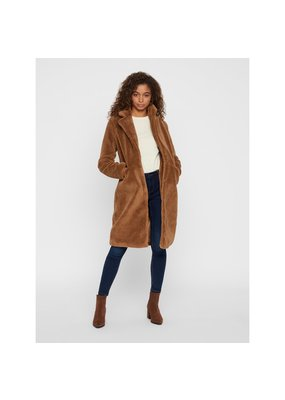 Vero Moda VMHOLLY LONG TEDDY JACKET KI