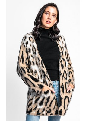 Pink Martini Leopard Sweater