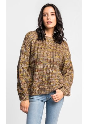 Pink Martini Autumn Leaves Sweater