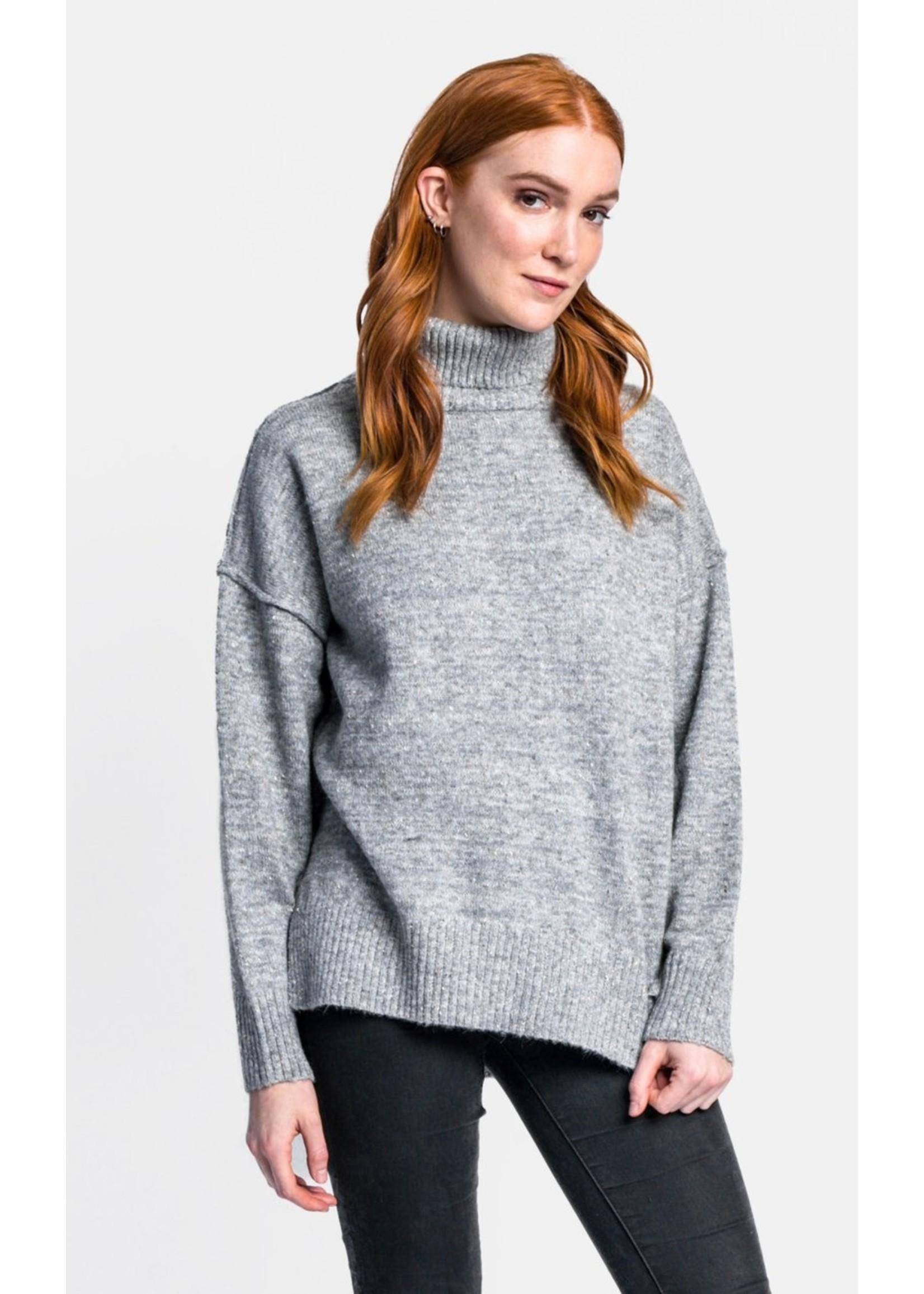 Pink Martini Mock It To Me Sweater